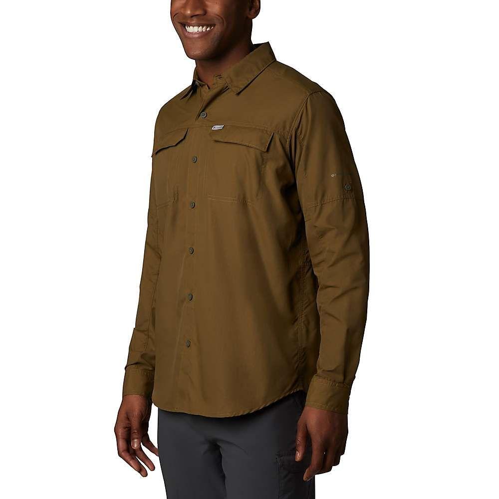 コロンビア Columbia メンズ シャツ トップス【silver ridge2.0 ls shirt】Olive Brown