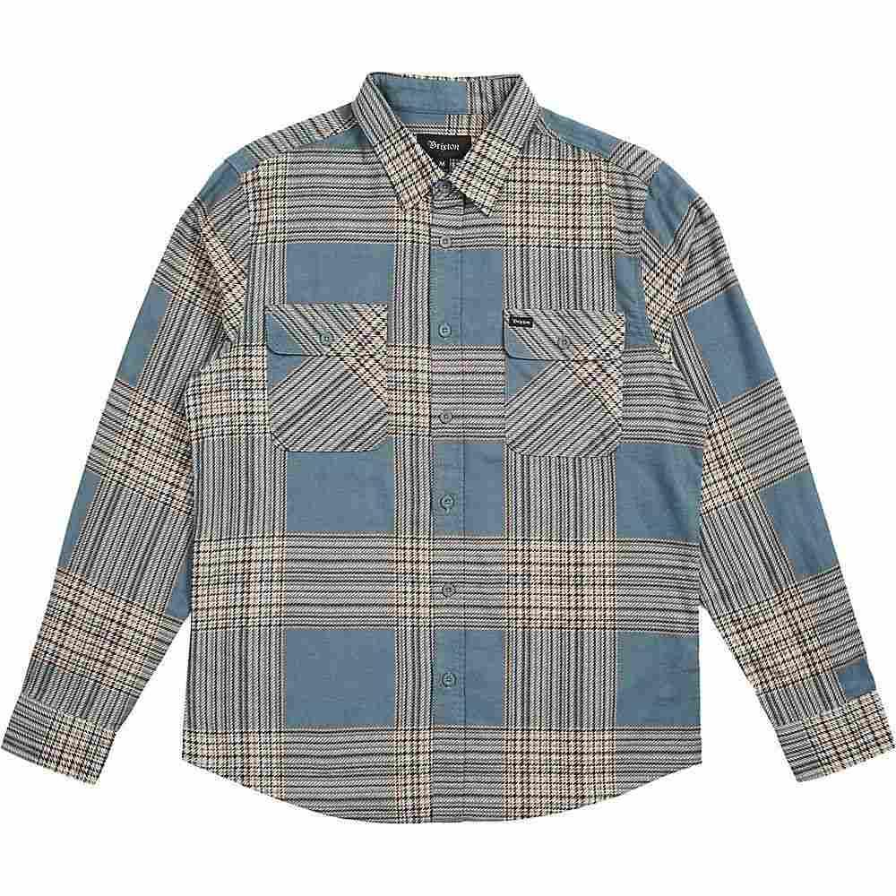 ブリクストン Brixton メンズ シャツ トップス【bowery lw l/s flannel】Atlantic