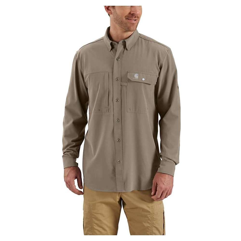 カーハート Carhartt メンズ シャツ トップス【force extremes angler woven ls shirt】Desert