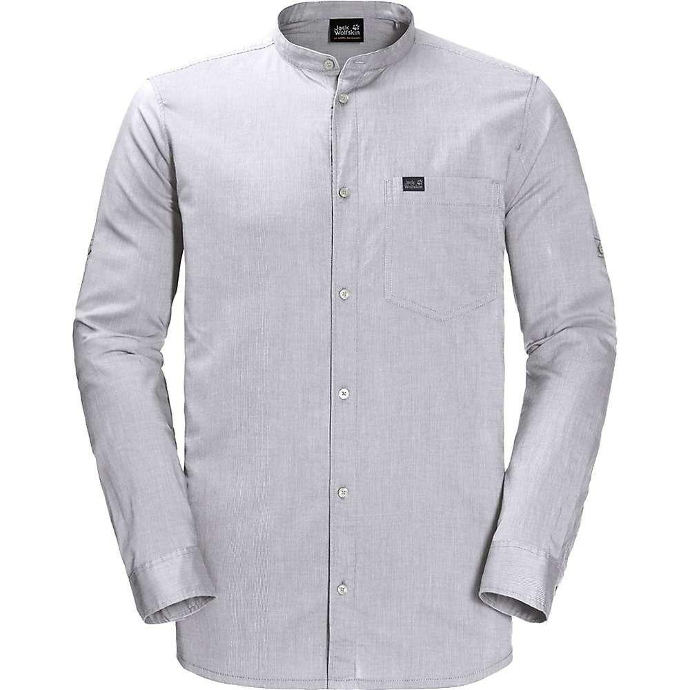ジャックウルフスキン Jack Wolfskin メンズ シャツ トップス【indian springs shirt】White Rush Stripes