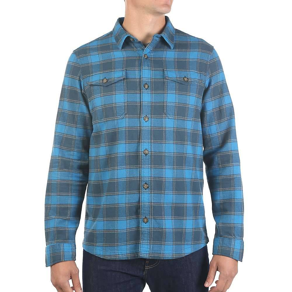 ムースジョー Moosejaw メンズ シャツ トップス【boon heavyweight flannel】Dusk Blue/Nickel