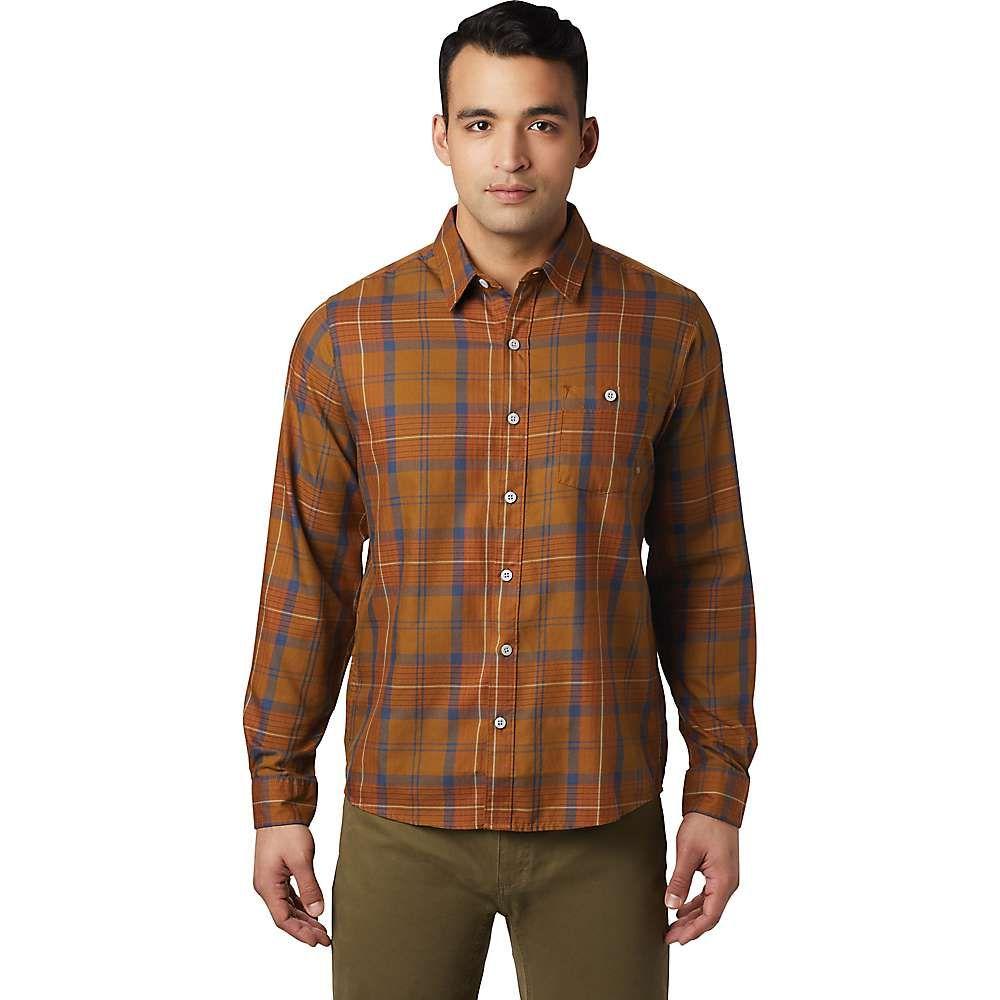 マウンテンハードウェア Mountain Hardwear メンズ シャツ トップス【rogers pass ls shirt】Golden Brown