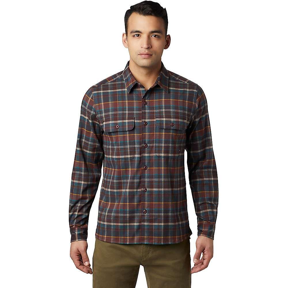 マウンテンハードウェア Mountain Hardwear メンズ シャツ トップス【voyager one shirt】Dark Umber