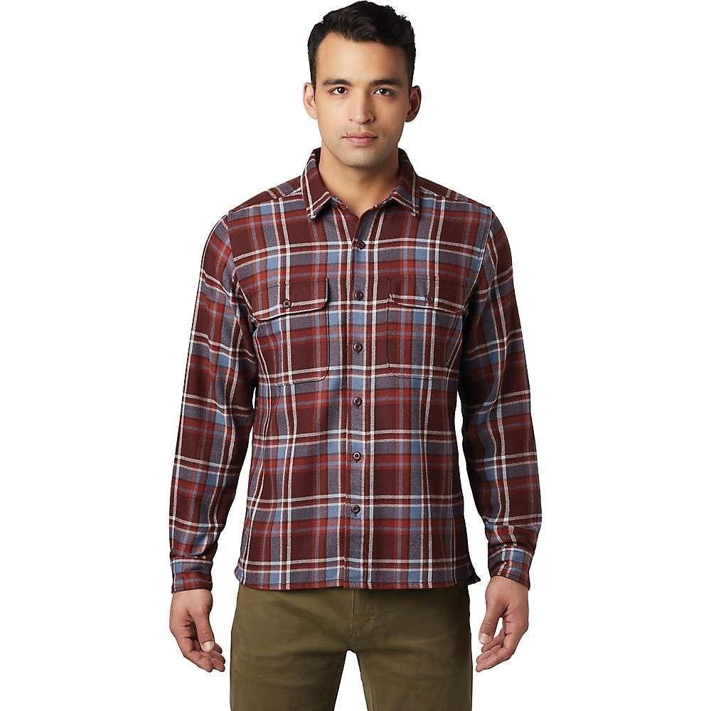 マウンテンハードウェア Mountain Hardwear メンズ シャツ トップス【woolchester ls shirt】Dark Umber