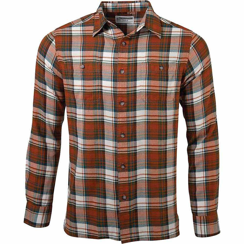 マウンテンカーキス Mountain Khakis メンズ シャツ トップス【meridian ls shirt】Terracotta