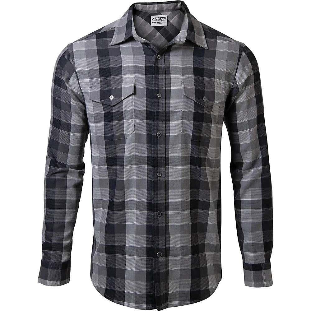 マウンテンカーキス Mountain Khakis メンズ シャツ フランネルシャツ トップス【pearl street flannel shirt】Black