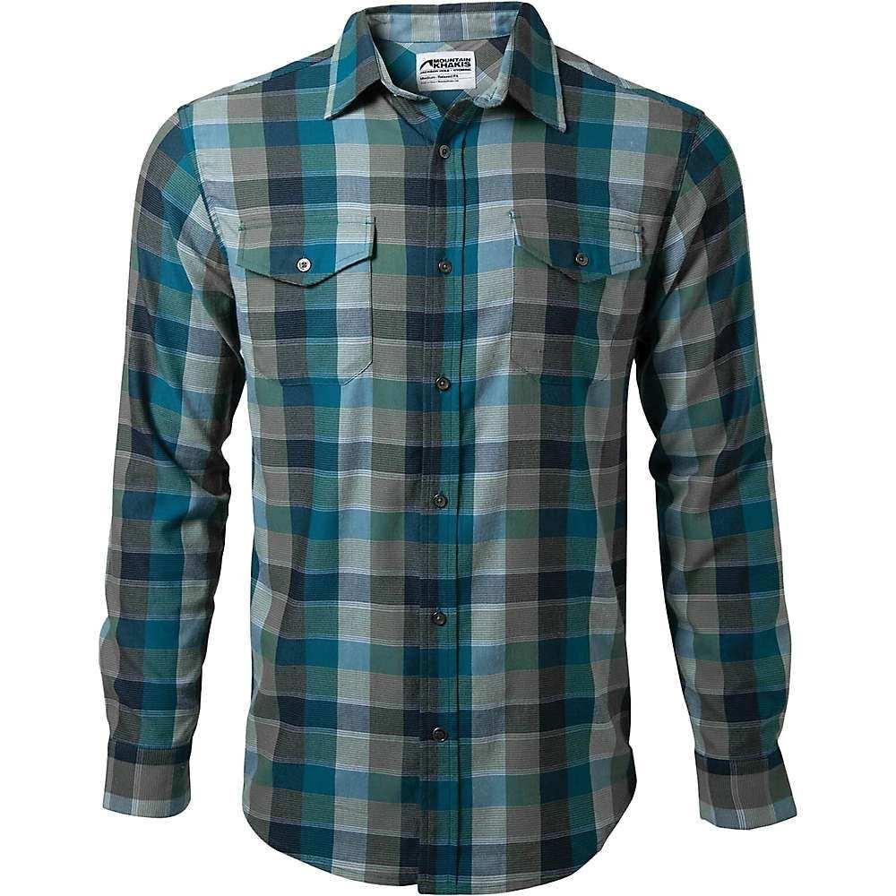 マウンテンカーキス Mountain Khakis メンズ シャツ フランネルシャツ トップス【pearl street flannel shirt】Mallard