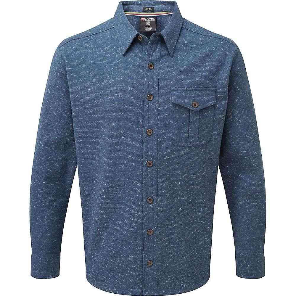 シェルパ Sherpa メンズ シャツ トップス【jamling shirt】Neelo Blue