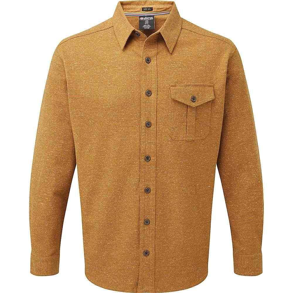 シェルパ Sherpa メンズ シャツ トップス【jamling shirt】Masala Orange