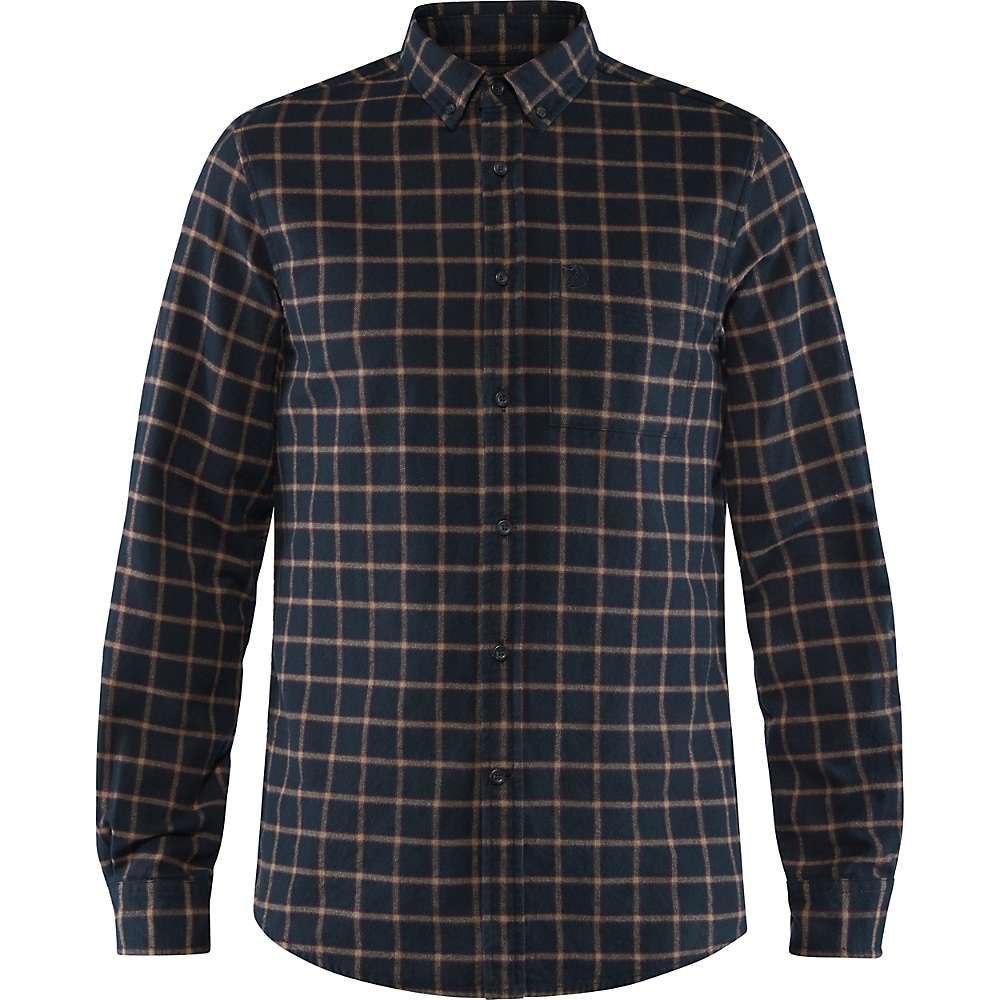 フェールラーベン Fjallraven メンズ シャツ フランネルシャツ トップス【ovik flannel shirt】Dark Navy
