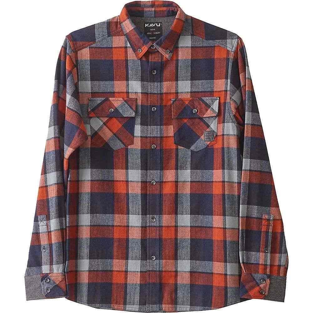 カブー Kavu メンズ シャツ トップス【buffaroni shirt】Highland Rust
