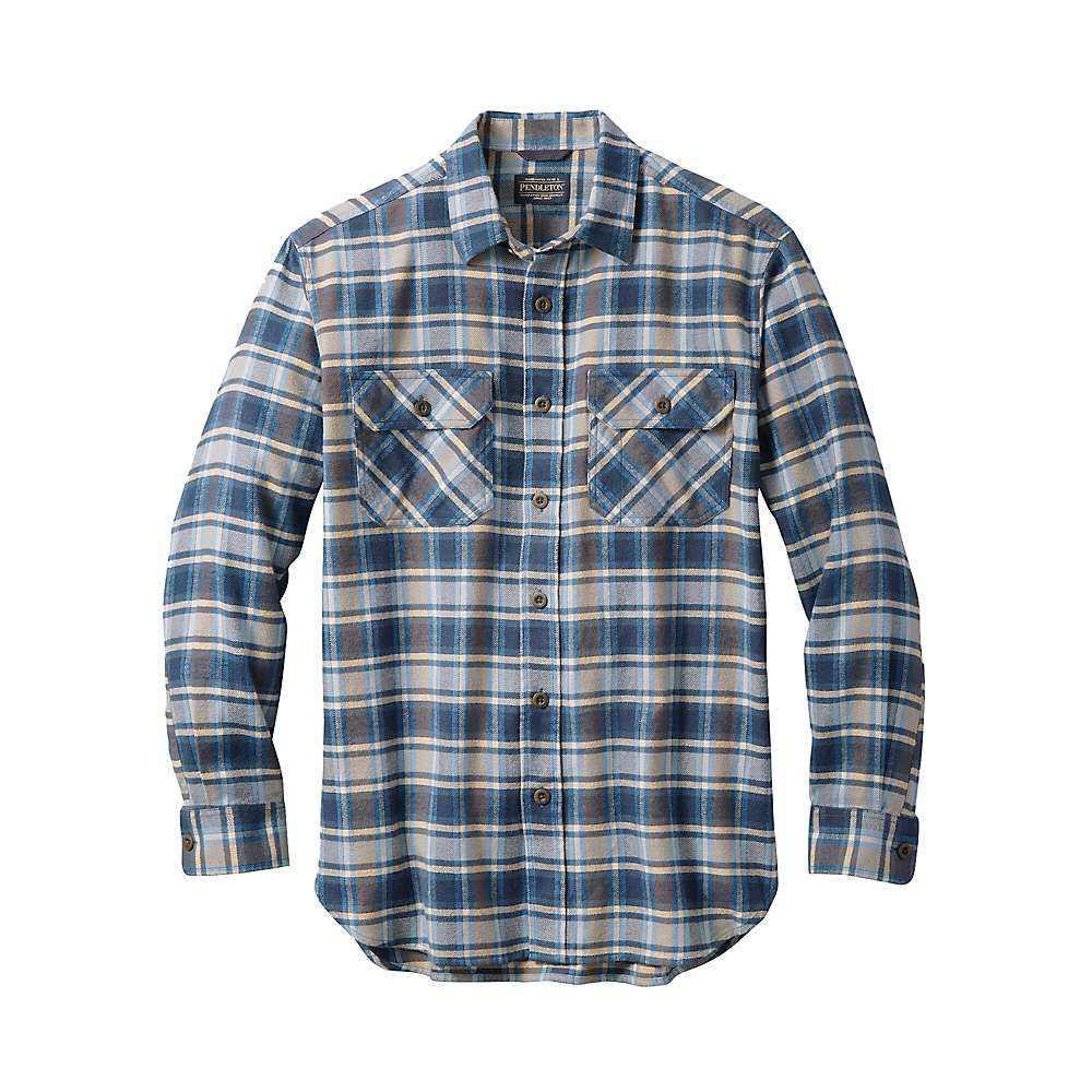 ペンドルトン Pendleton メンズ シャツ フランネルシャツ トップス【super soft burnside flannel shirt】Lt. Blue/Navy/Brown Plaid