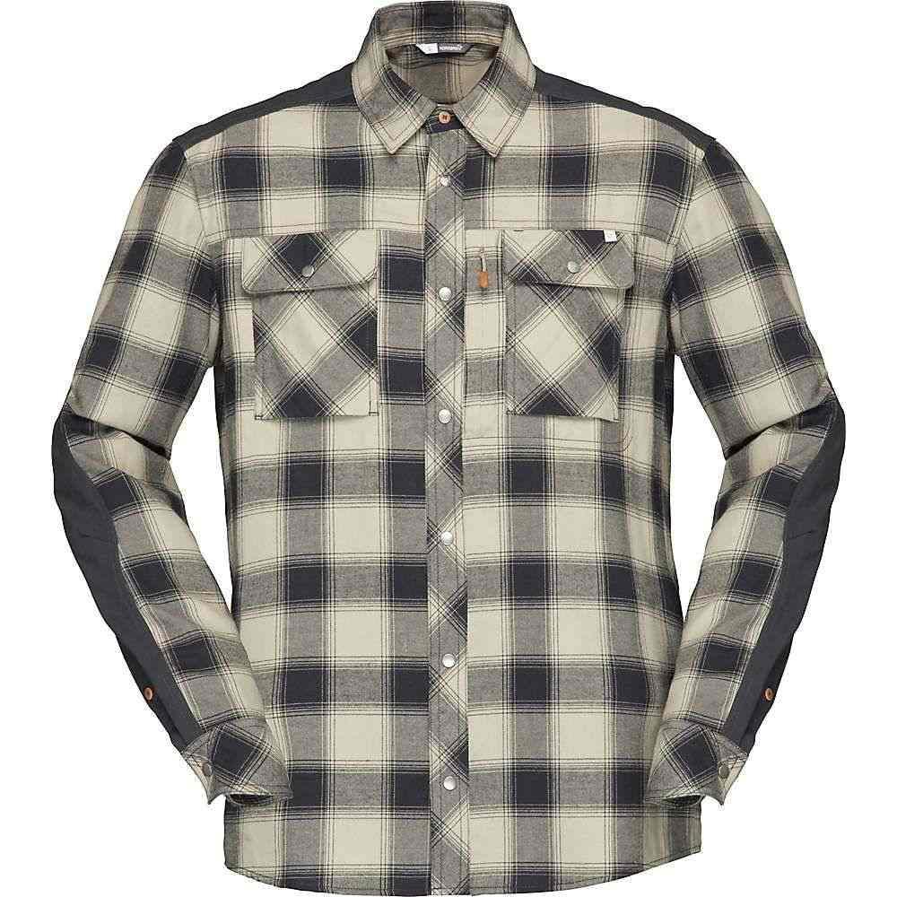 ノローナ Norrona メンズ シャツ フランネルシャツ トップス【svalbard flannel shirt】Sandstone