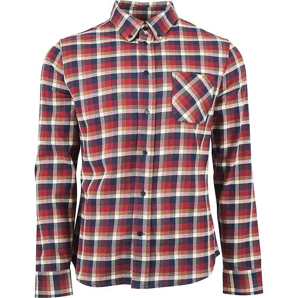 YUNY Mens Oversize Long Sleeve Cotton Plaid Skinny Dress Shirts Top Coffee M