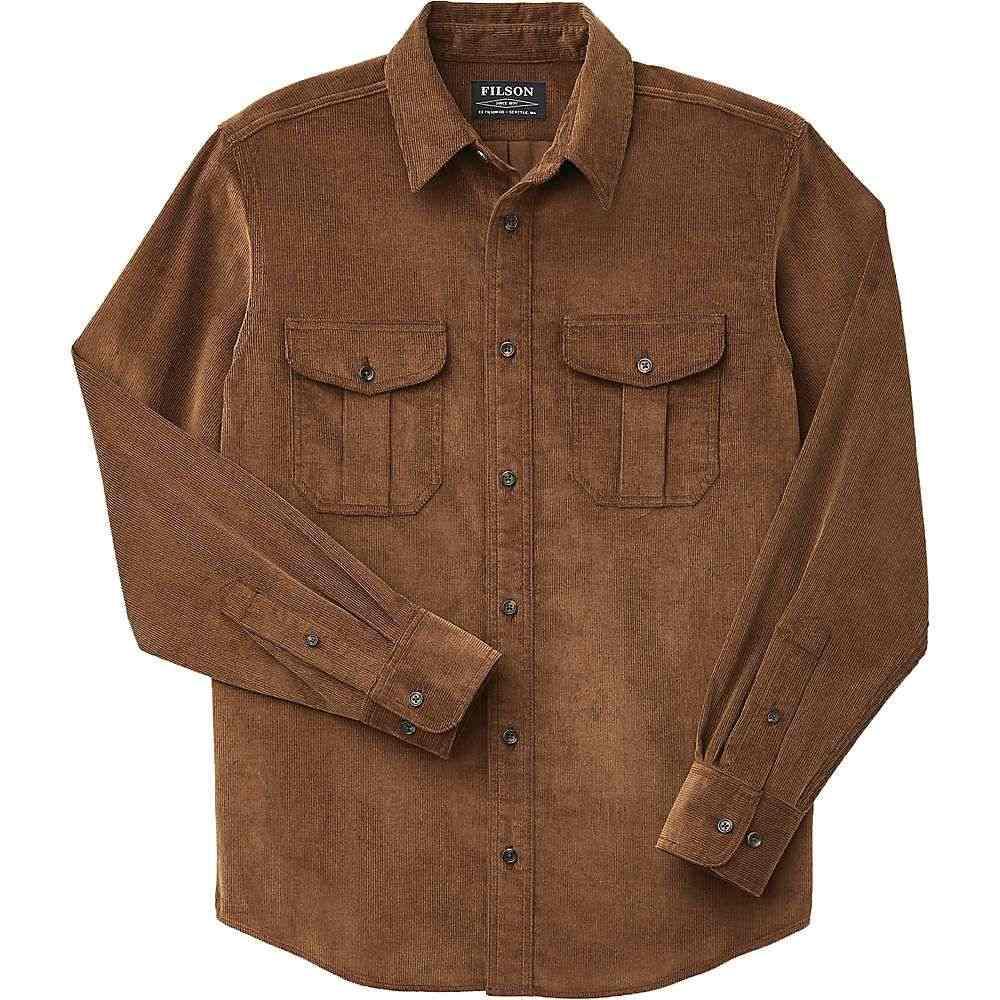 フィルソン Filson メンズ シャツ トップス【11-wale corduroy shirt】Brown