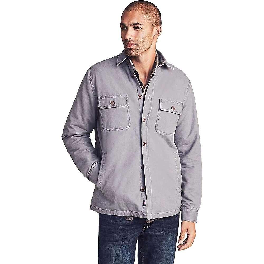 ファレティ Faherty メンズ シャツ トップス【blanket lined cpo shirt】Rugged Grey