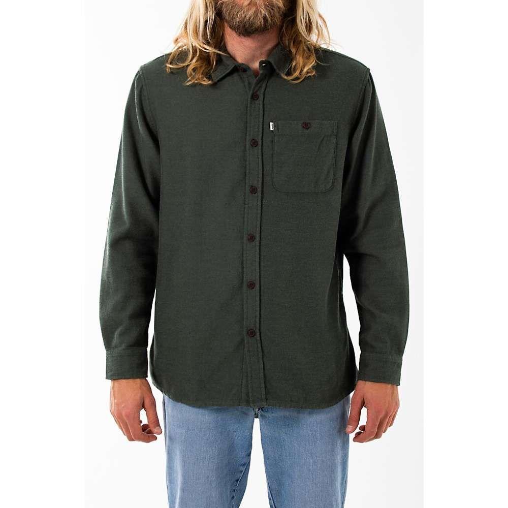 ケイティン Katin メンズ シャツ フランネルシャツ トップス【twiller flannel shirt】Army