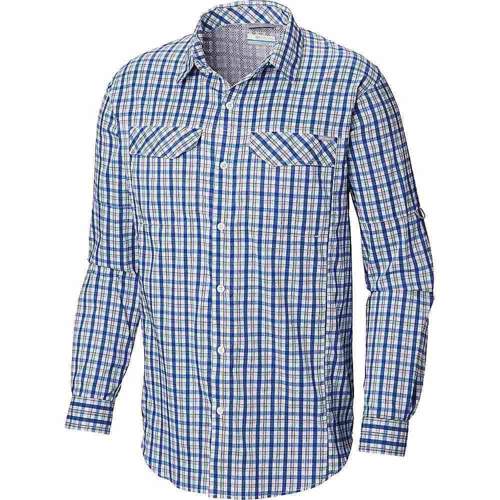 コロンビア Columbia メンズ シャツ トップス【silver ridge lite plaid ls shirt】Azul Gingham