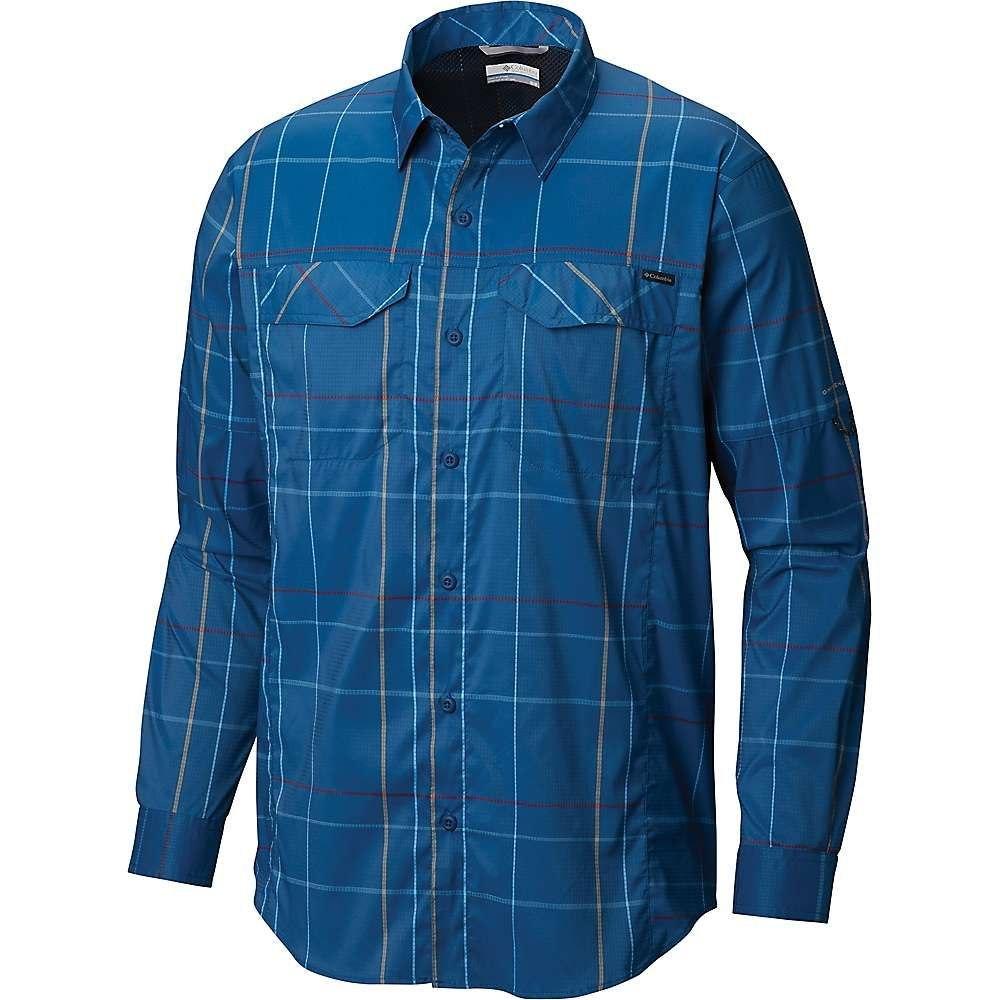 コロンビア Columbia メンズ シャツ トップス【silver ridge lite plaid ls shirt】Impulse Blue Open Pane Plaid