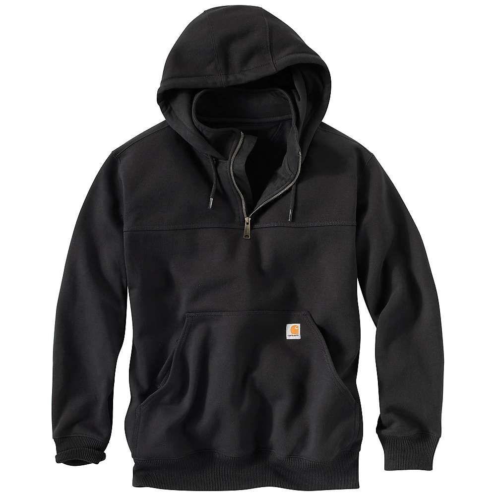 カーハート メンズ トップス スウェット トレーナー Black サイズ交換無料 Carhartt パーカー Heavyweight Hooded Defender Paxton 大幅値下げランキング Mock Zip 新作アイテム毎日更新 Sweatshirt Rain