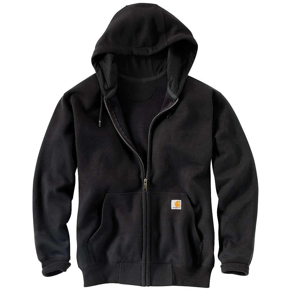 カーハート メンズ トップス スウェット トレーナー Black セール 登場から人気沸騰 サイズ交換無料 Carhartt 10%OFF パーカー Paxton Heavyweight Sweatshirt Hooded Defender Zip Front Rain
