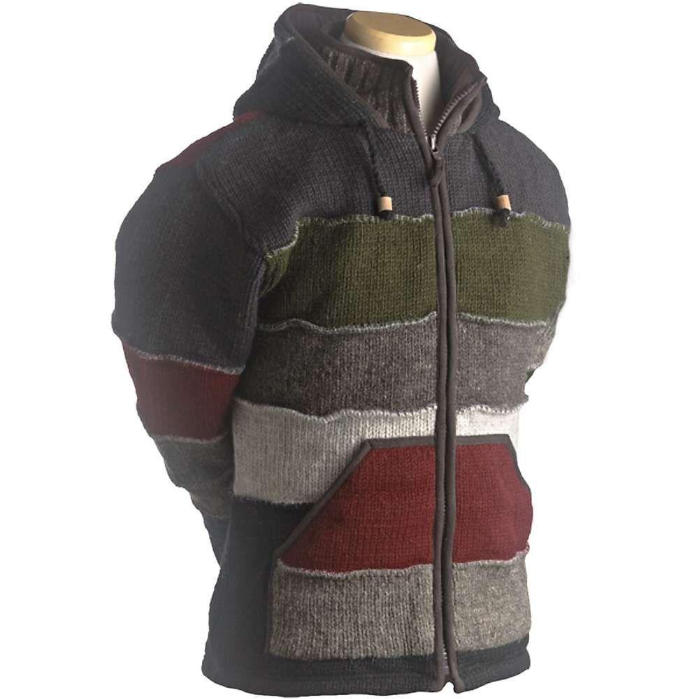 ランドロマット Laundromat メンズ フリース トップス【patchwork fleece lined sweater】Black