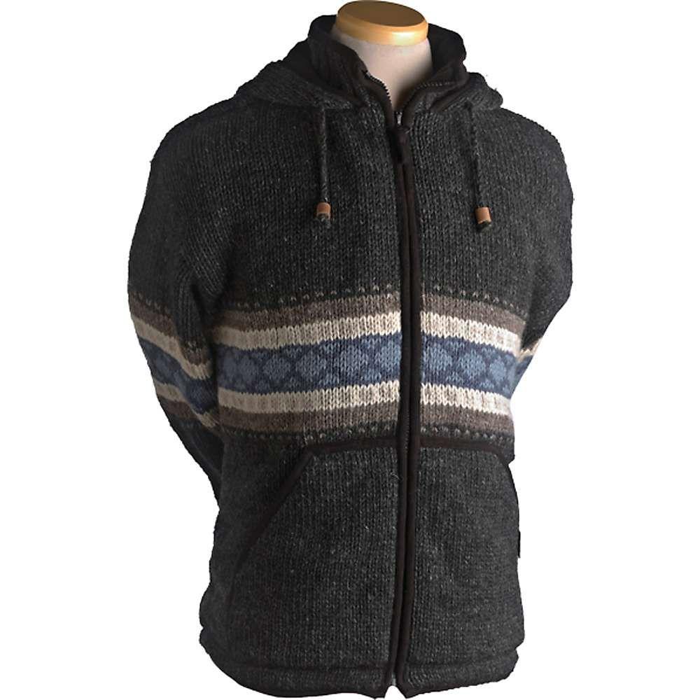 ランドロマット Laundromat メンズ フリース トップス【wayne fleece lined sweater】Black Natural