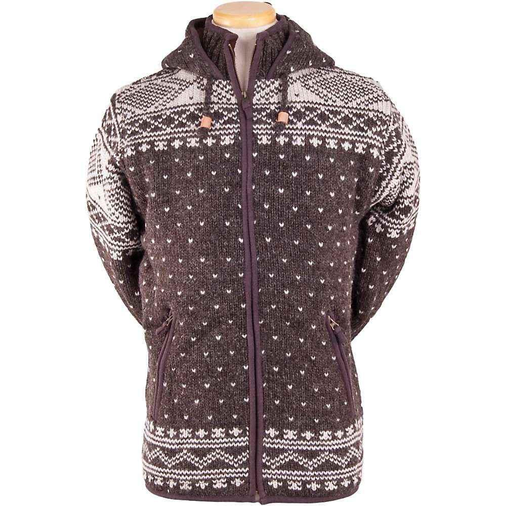 ランドロマット Laundromat メンズ フリース トップス【zurich fleece lined sweater】Dark Natural