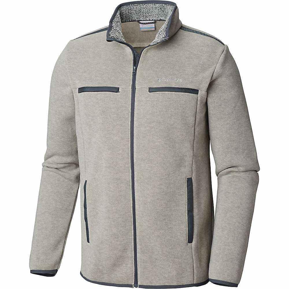 コロンビア Columbia メンズ ニット・セーター トップス【terpin point iii full zip sweater】Stone