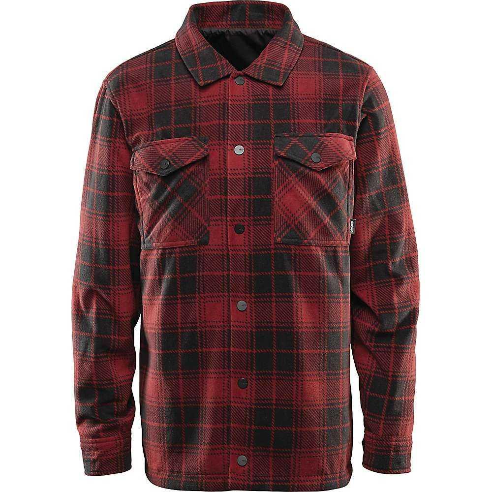 サーティーツー Thirty Two メンズ フリース トップス【drifter reversible fleece jacket】Black/Red