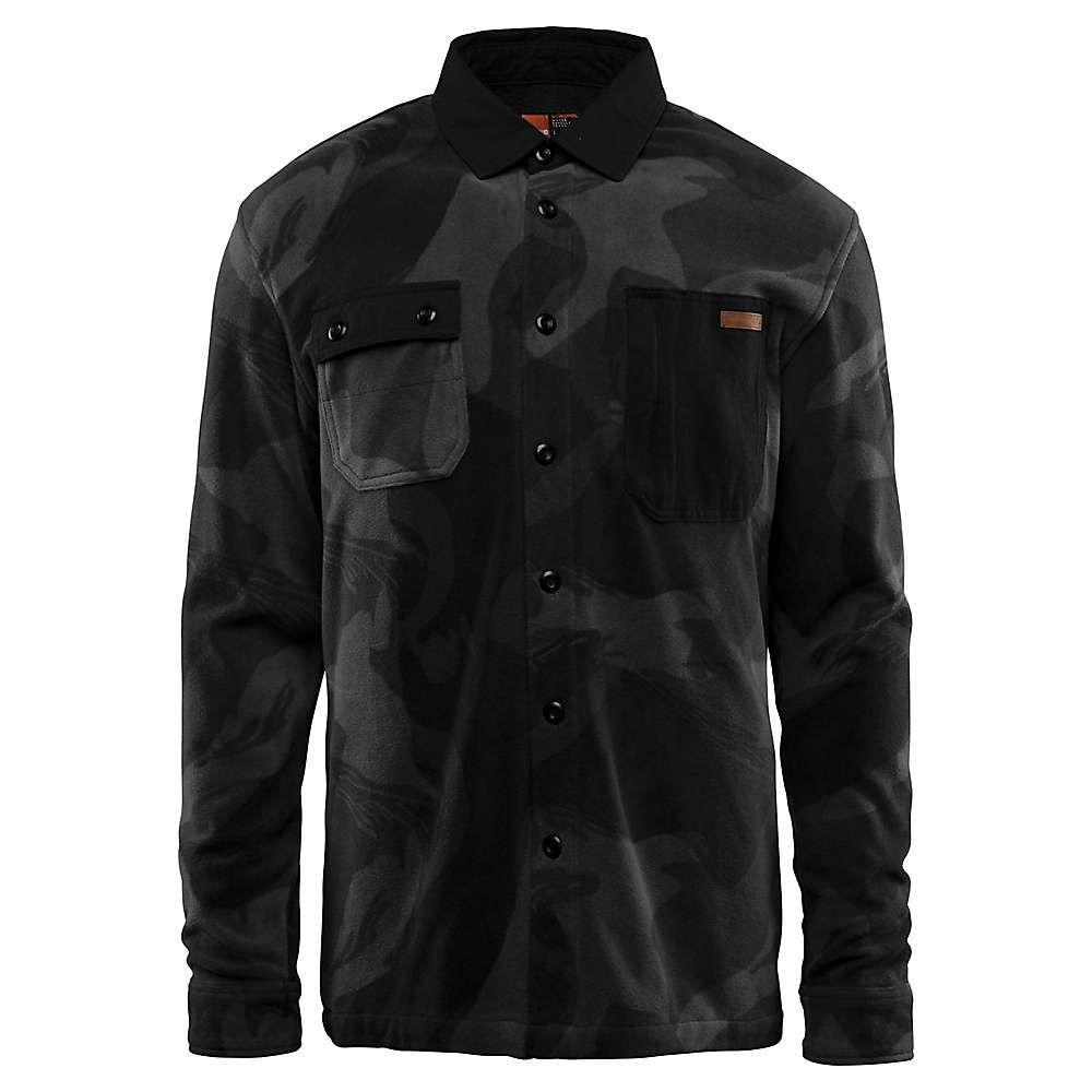 サーティーツー Thirty Two メンズ フリース トップス【rest stop fleece jacket】Black/Camo