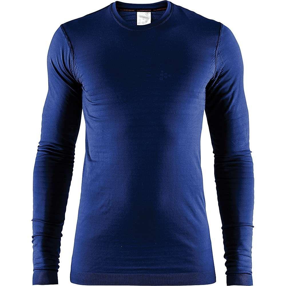 クラフト Craft Sportswear メンズ フィットネス・トレーニング トップス【craft warm comfort ls top】Maritime