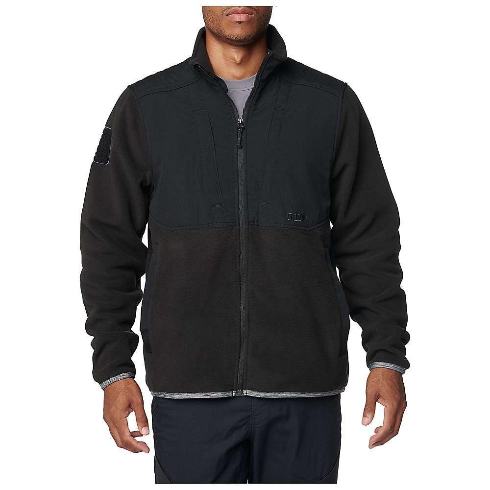 5.11 タクティカル 5.11 Tactical メンズ フリース トップス【apollo tech fleece jacket】Black