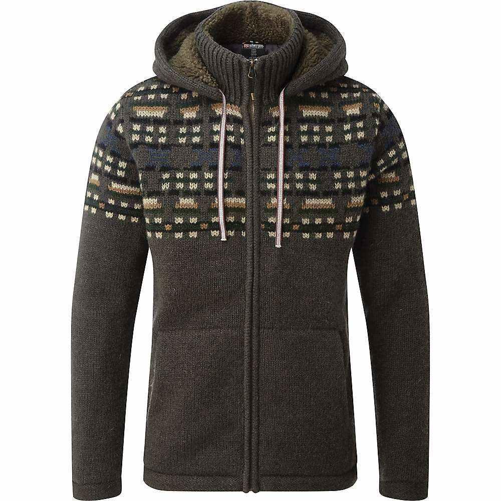 シェルパ Sherpa メンズ ニット・セーター トップス【kirtipur sweater】Tamur River Olive