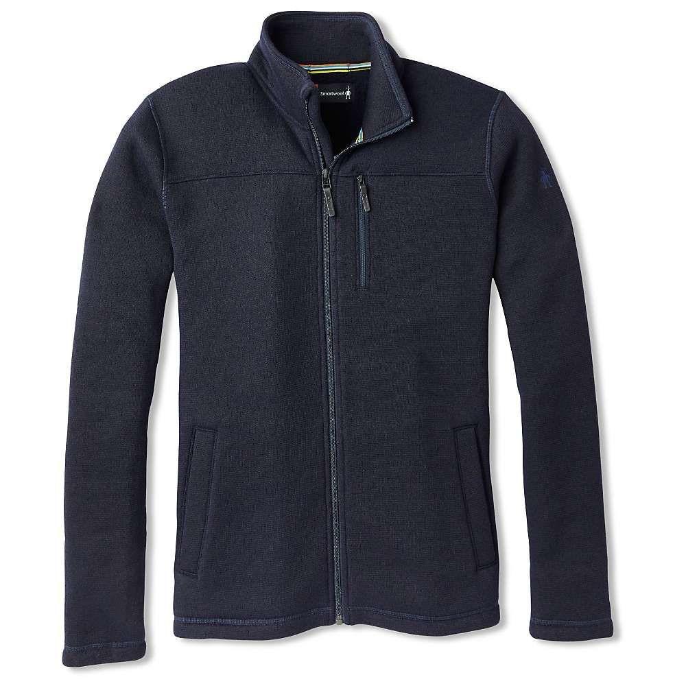 スマートウール Smartwool メンズ フリース トップス【hudson trail fleece full zip jacket】Navy