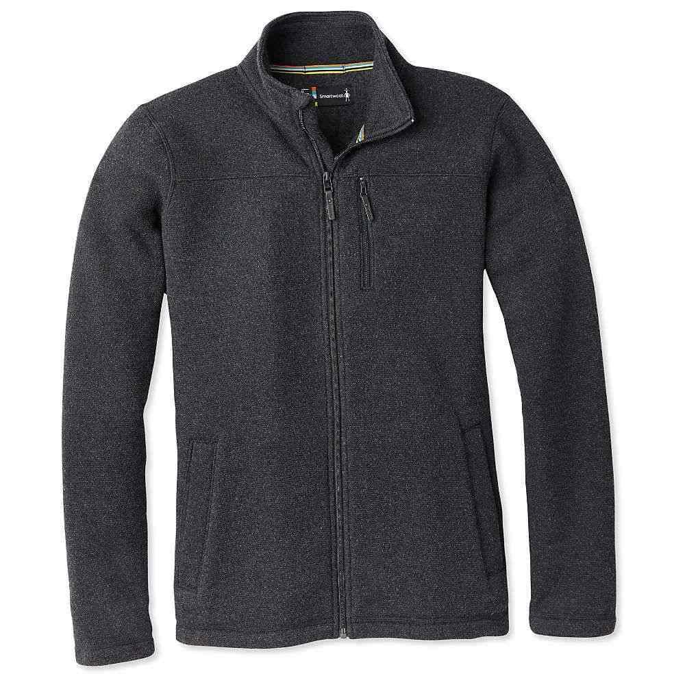 スマートウール Smartwool メンズ フリース トップス【hudson trail fleece full zip jacket】Dark Charcoal