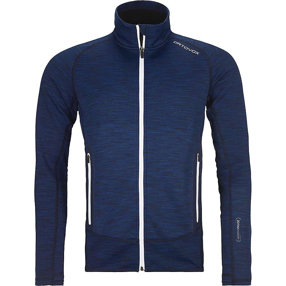 オルトボックス Ortovox メンズ フリース トップス【fleece space dyed jacket】Dark Navy Blend