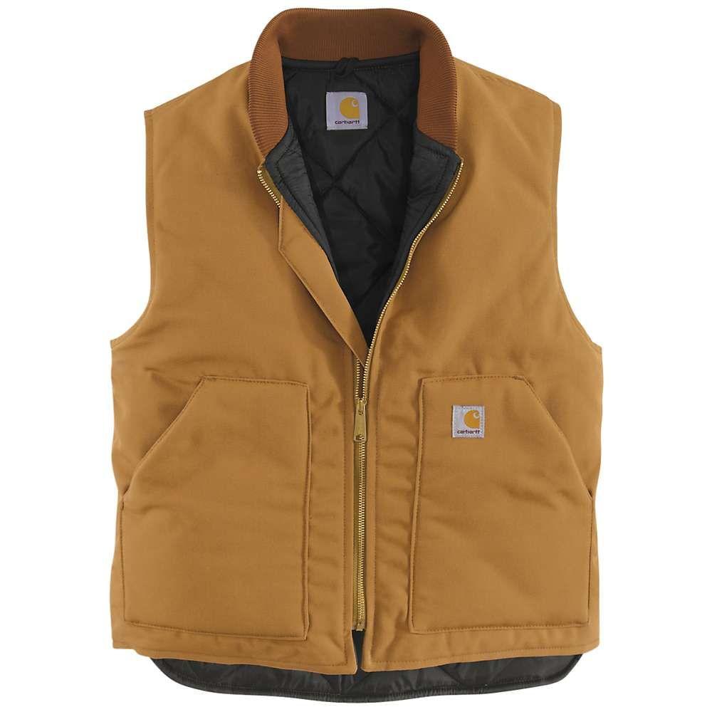 カーハート Carhartt メンズ ベスト・ジレ トップス【duck vest】Carhartt Brown