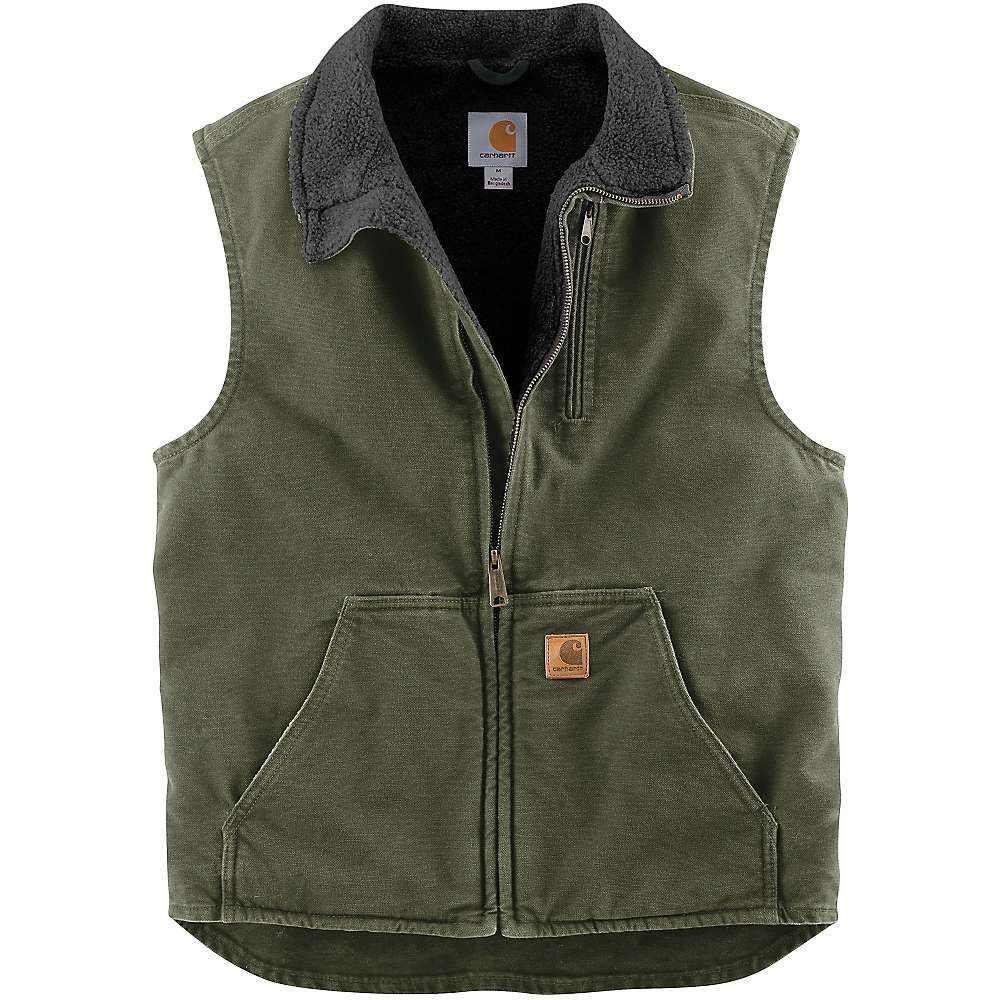 カーハート Carhartt メンズ ベスト・ジレ トップス【mock neck vest】Moss/Black