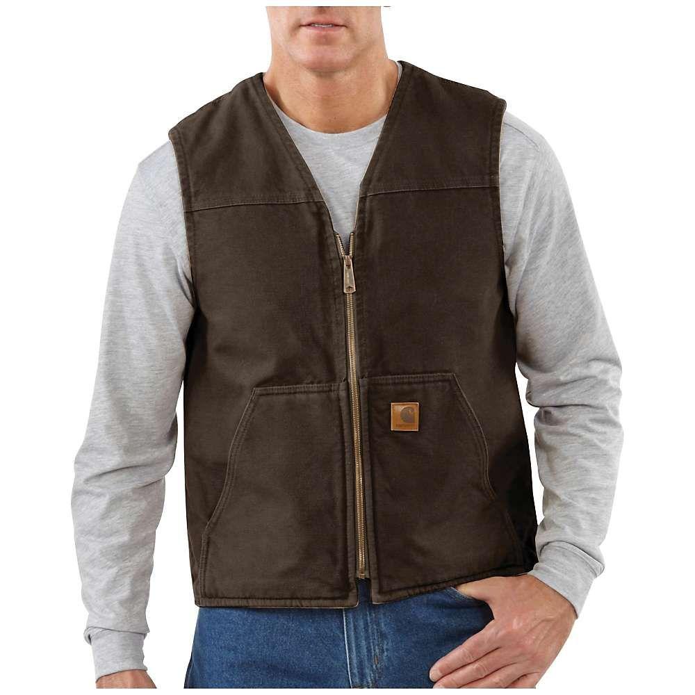 カーハート Carhartt メンズ ベスト・ジレ トップス【rugged vest】Dark Brown