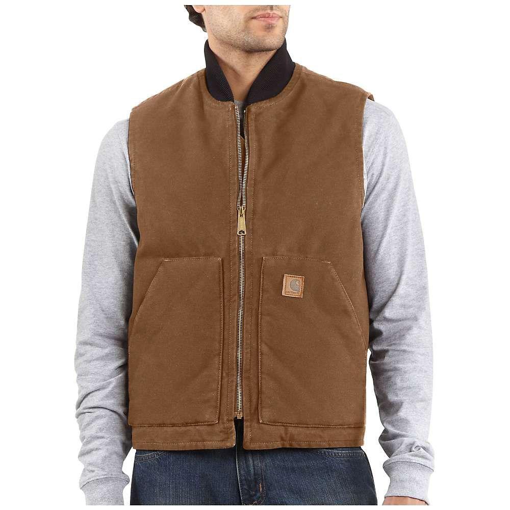 カーハート Carhartt メンズ ベスト・ジレ トップス【sandstone vest】Carhartt Brown