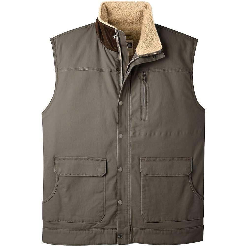 マウンテンカーキス Mountain Khakis メンズ ベスト・ジレ シアリング トップス【ranch shearling vest】Terra