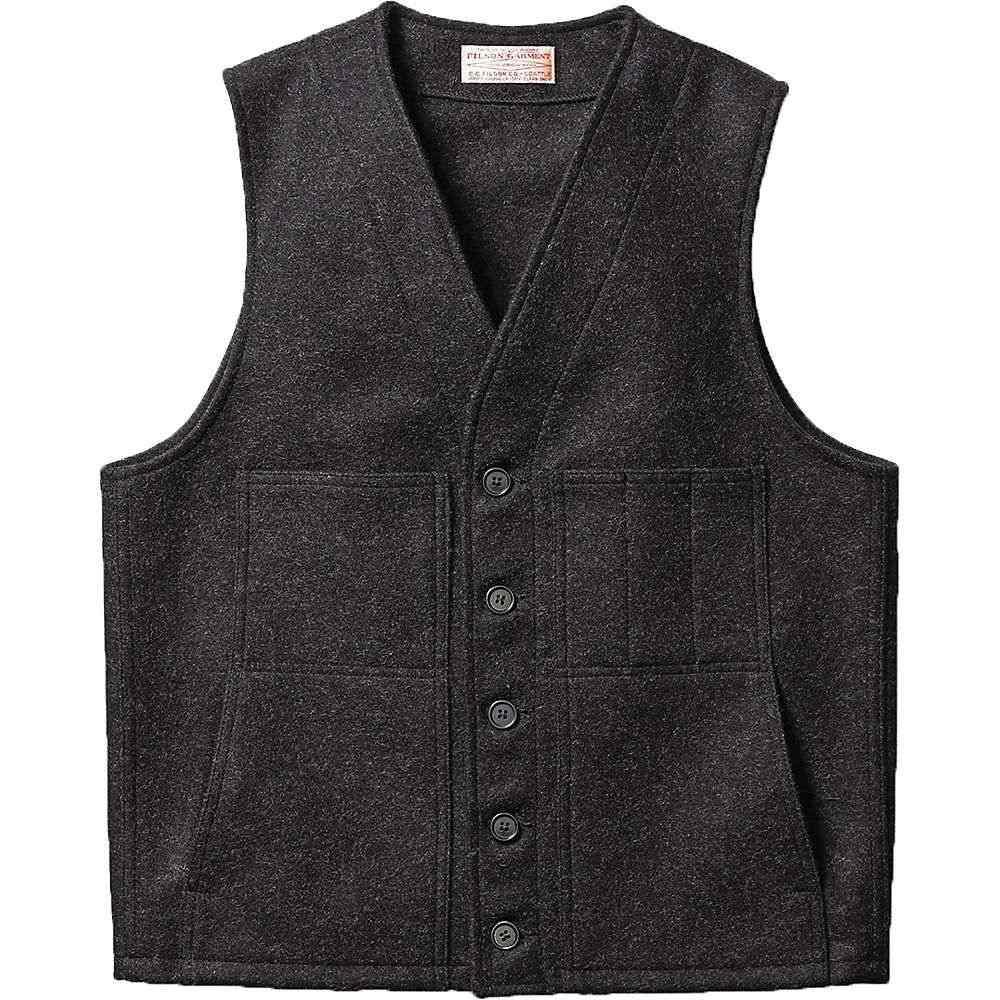 フィルソン Filson メンズ ベスト・ジレ トップス【mackinaw wool vest】Charcoal