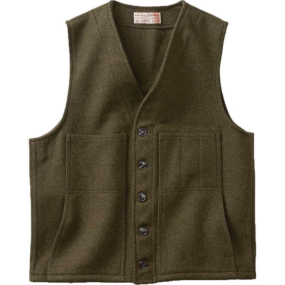 フィルソン Filson メンズ ベスト・ジレ トップス【mackinaw wool vest】Forest Green
