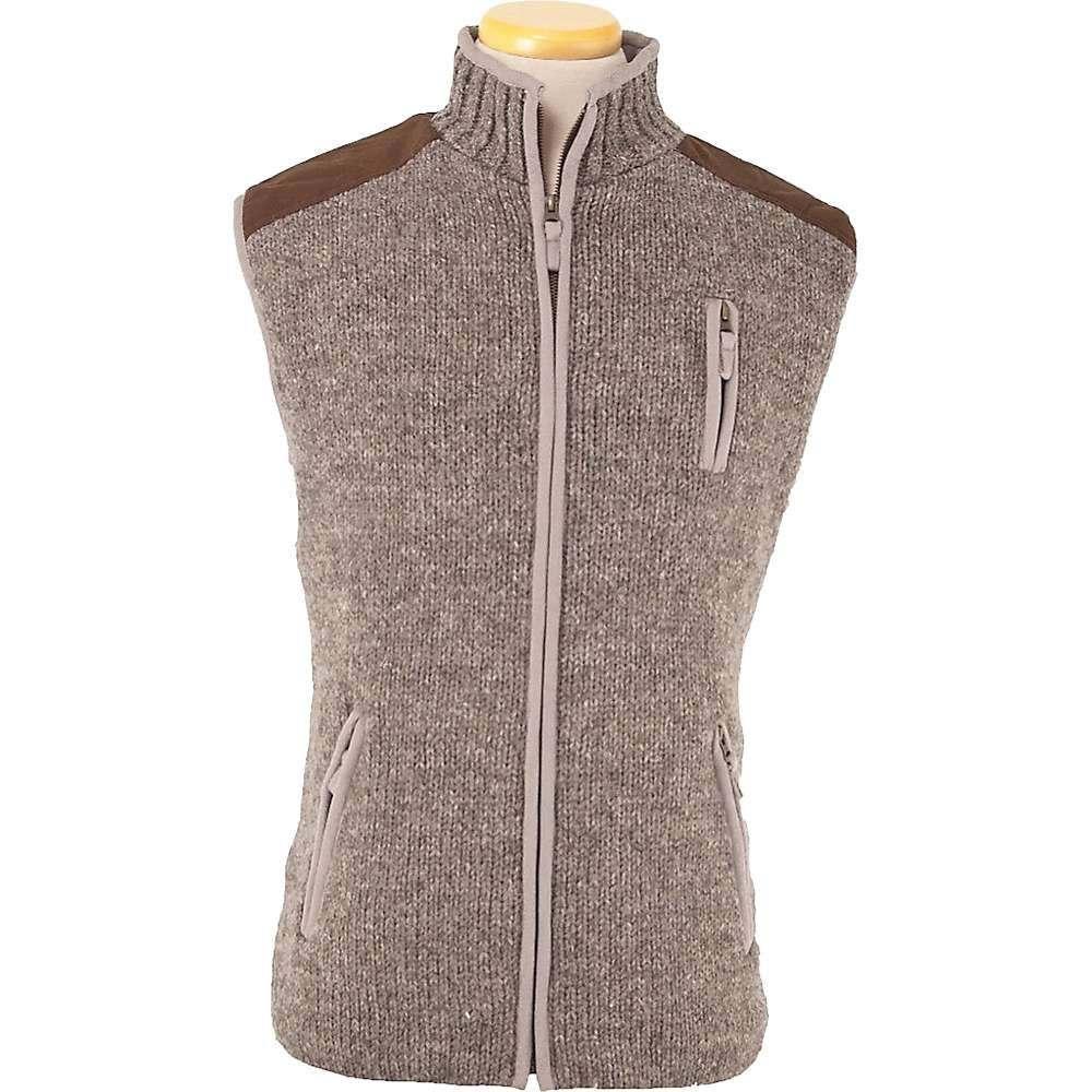 ランドロマット Laundromat メンズ ベスト・ジレ トップス【yale fleece lined vest】Medium Natural