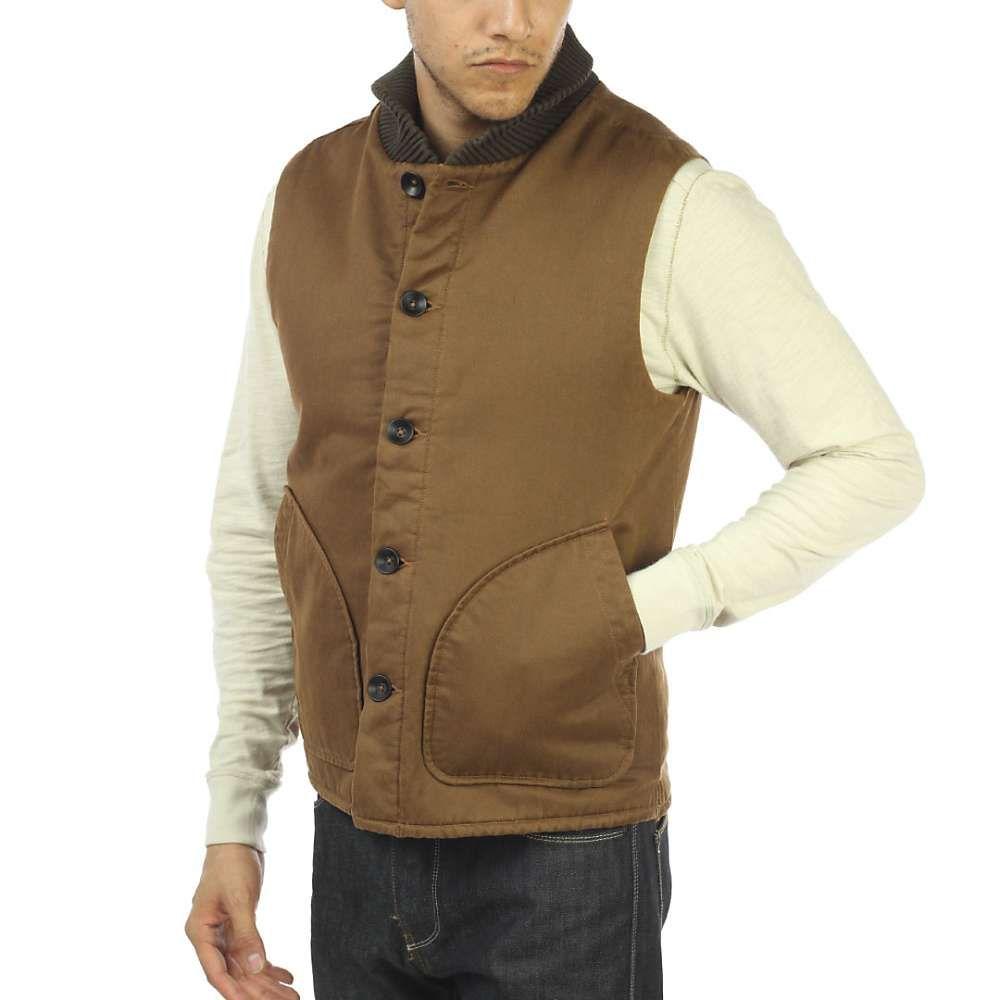 ジェレミア Jeremiah メンズ ベスト・ジレ トップス【muir cotton suede vest】Maple