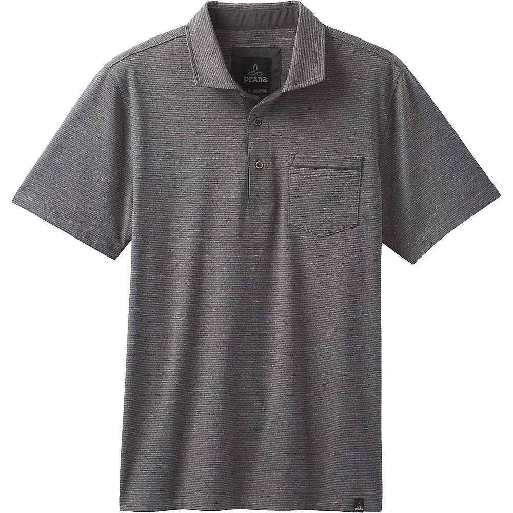 プラーナ Prana メンズ ポロシャツ トップス【pacer ss polo shirt】Charcoal