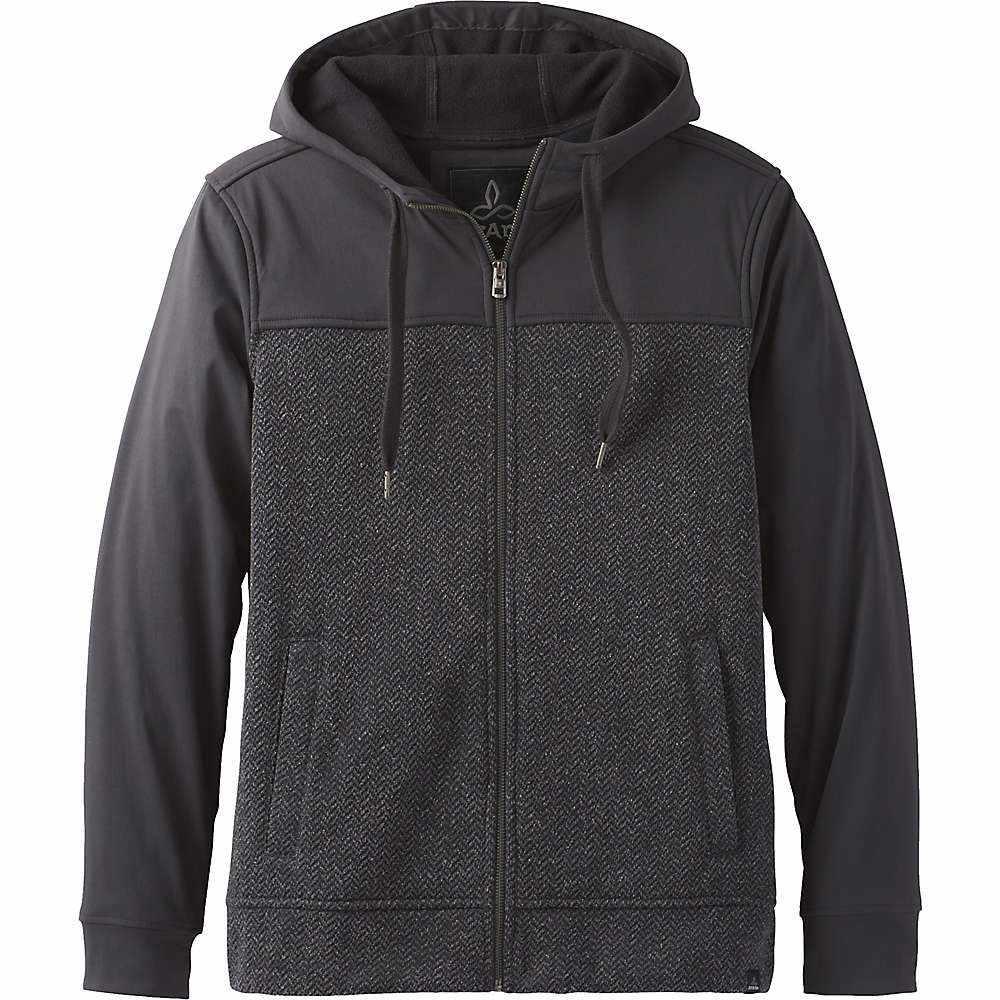 プラーナ Prana メンズ フリース トップス【zion full zip hoodie】Charcoal