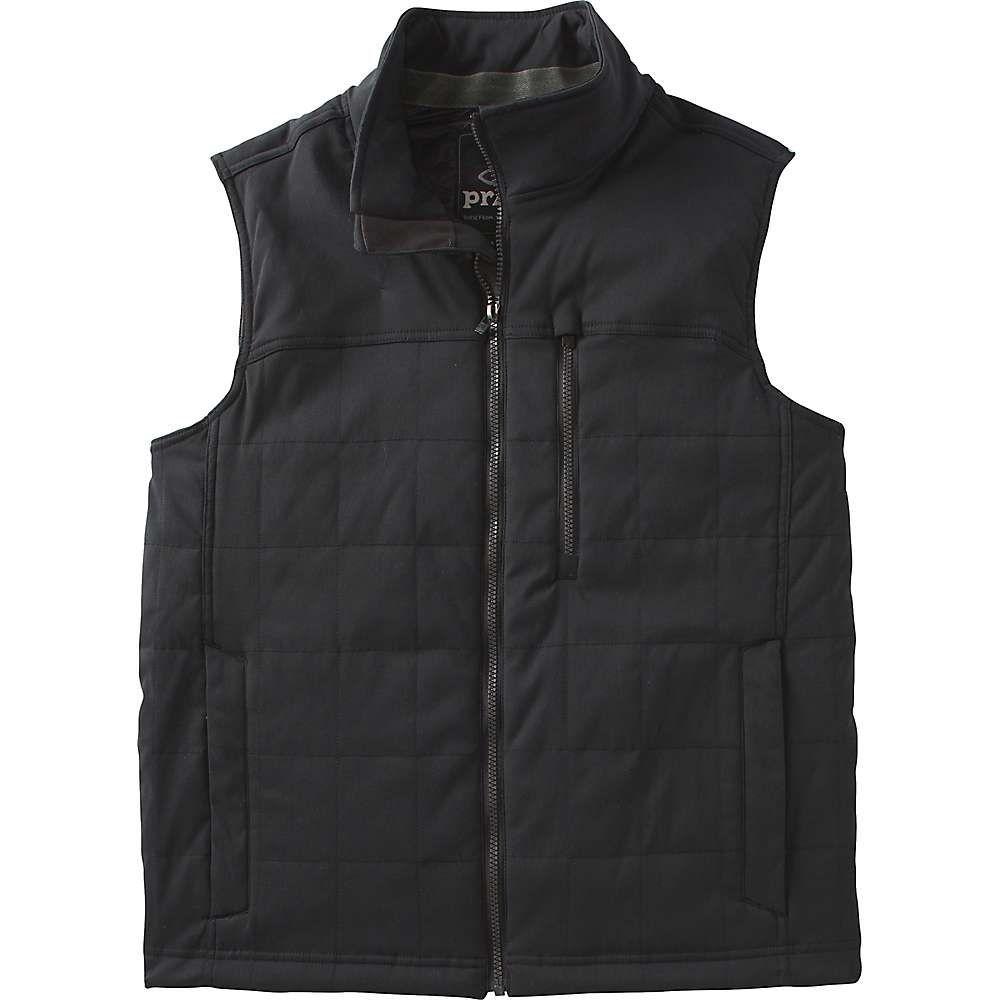 プラーナ Prana メンズ ベスト・ジレ トップス【zion quilted vest】Black