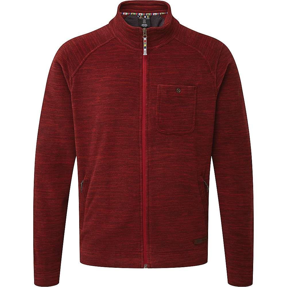シェルパ Sherpa メンズ フリース トップス【sonam jacket】Potala Red